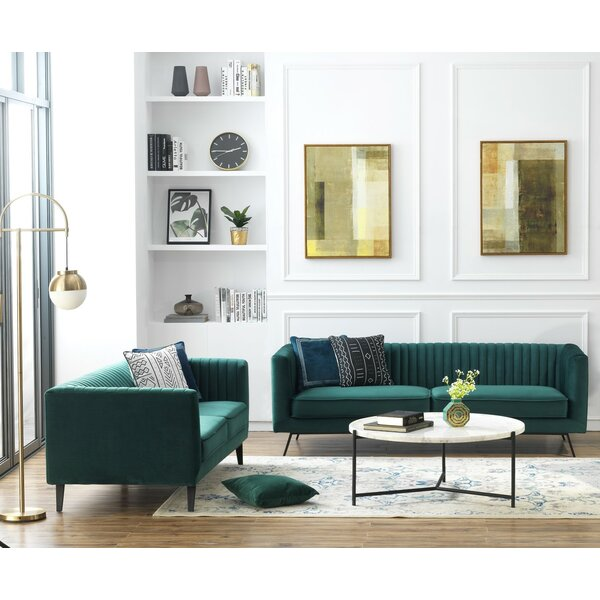 Yorkshire Configurable Living Room Set by Everly Quinn