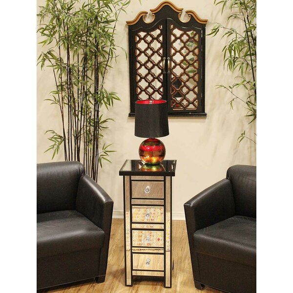 Adelle 4 Drawer Free Standing Jewelry Armorie by House of Hampton