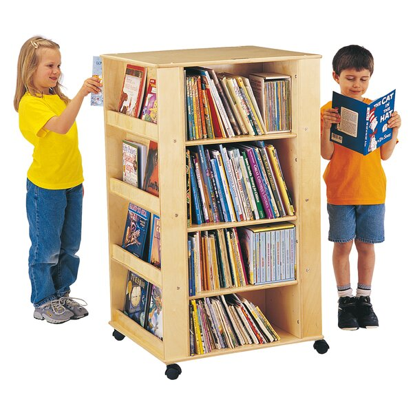 ThriftyKYDZ Multimedia Bookshelf with Wheels by Jonti-Craft