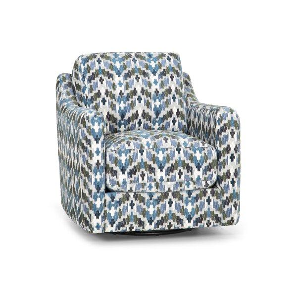 Beasley Swivel Armchair by Brayden Studio