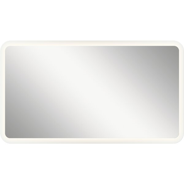 Ritzman LED Backlit Rectangle Accent Mirror by Orren Ellis