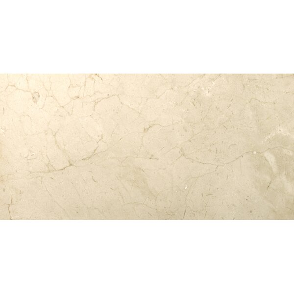 Marble 12 x 24 Tile in Crema Marfil Classico by Emser Tile