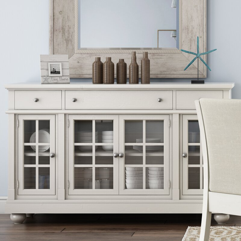 . Distressed Finish Sideboards   Buffets You ll Love   Wayfair