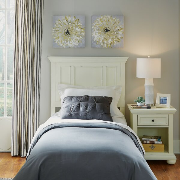 Rochford Panel Headboard and Nightstand by Three Posts