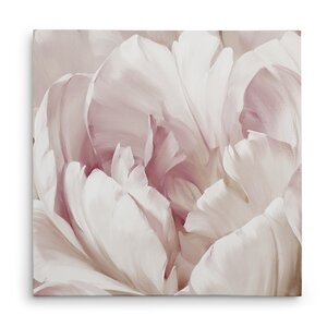 'Intimate Blush I' Oil Painting Print on Wrapped Canvas by House of Hampton