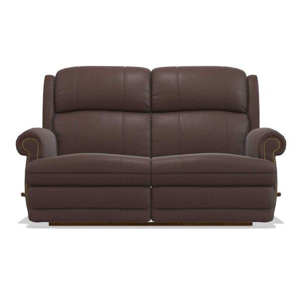 Kirkwood Reclina-Way® Full Leather Reclining Loveseat By La-Z-Boy