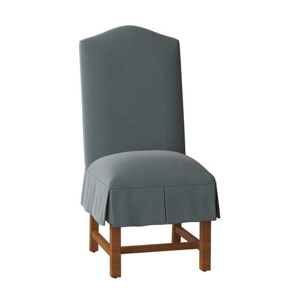 Whitehall Skirted Upholstered Dining Chair by Sloane Whitney Sloane Whitney