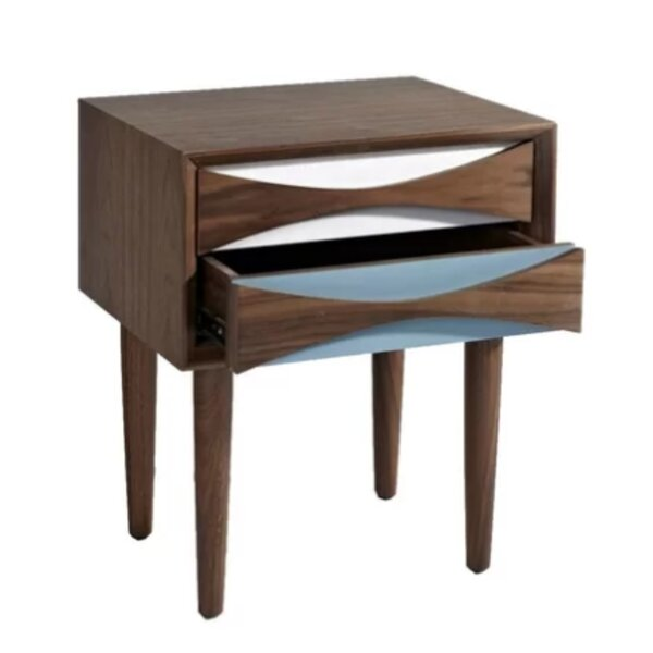 Burcham 2 Drawer Nightstand by Corrigan Studio