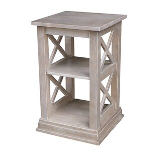 Best Deals Gabby Accent End Table with Storage By Highland Dunes