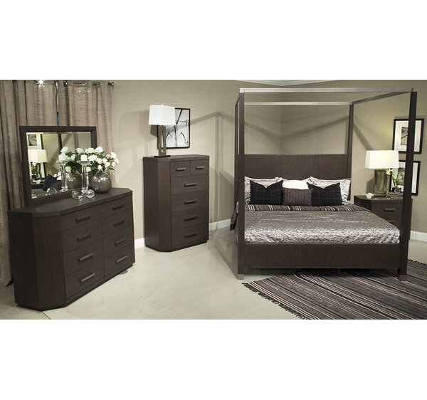 Chelsea Loft Canopy Configurable Bedroom Set by Fairfax Home Collections