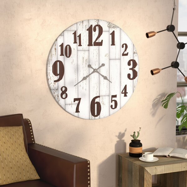 Burdette 36 Wall Clock by Trent Austin Design