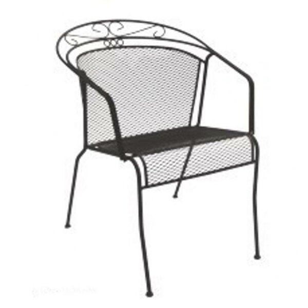 Charleston Stacking Patio Dining Chair by DC America