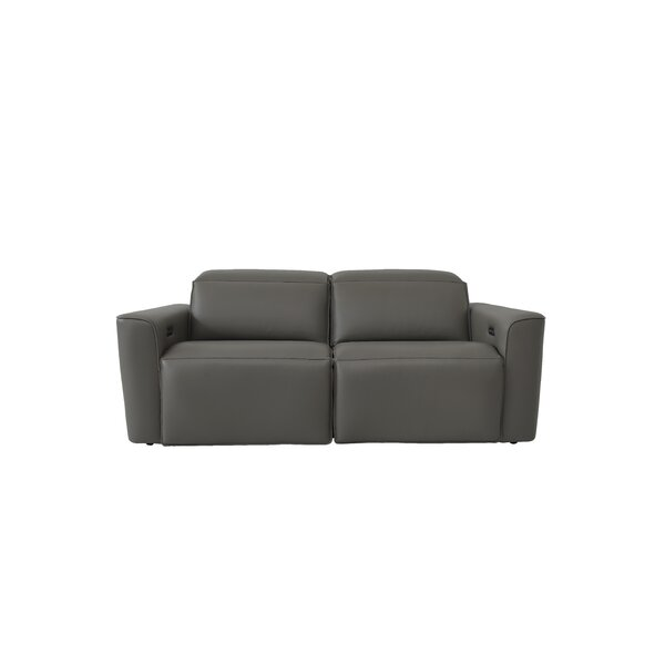 Review Gen Z Reclining 75.6'' Square Arm Sofa