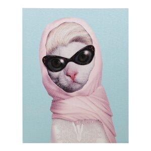 Pets Rock™ Princess Graphic Art on Wrapped Canvas by Empire Art Direct