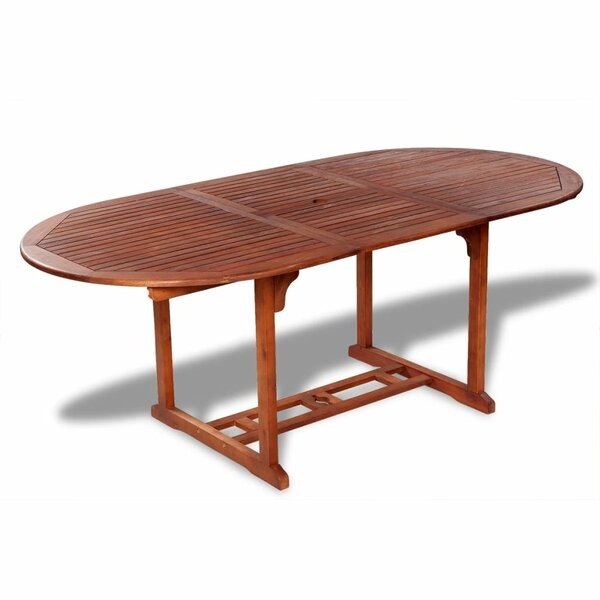 Kegley Extendable Wooden Dining Table by August Grove