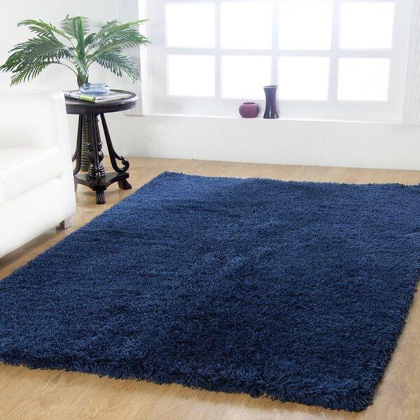 Affinity Hand-woven Navy Area Rug by Affinity Linens