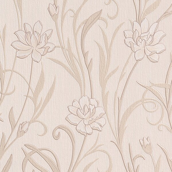 Meadow 32.97 x 20.8 Floral and botanical Wallpaper by Walls Republic