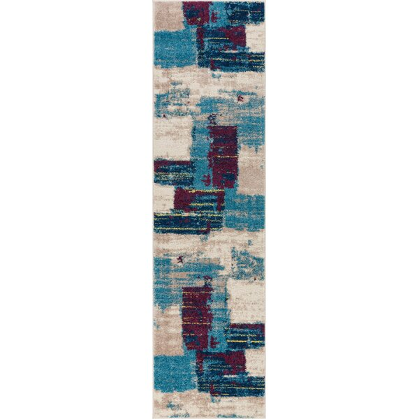 Frandsen Blue Area Rug by Wrought Studio