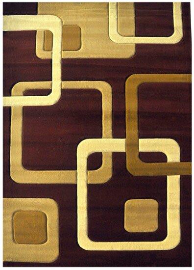 Demarie Burgundy Area Rug by Orren Ellis