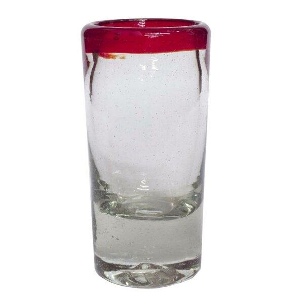 2 Oz. Tequila Shot Glass (Set of 6) by Novica