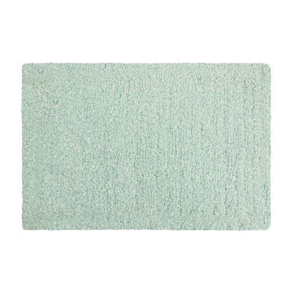 Murry Lurex Rectangle Non-Slip Bath Rug