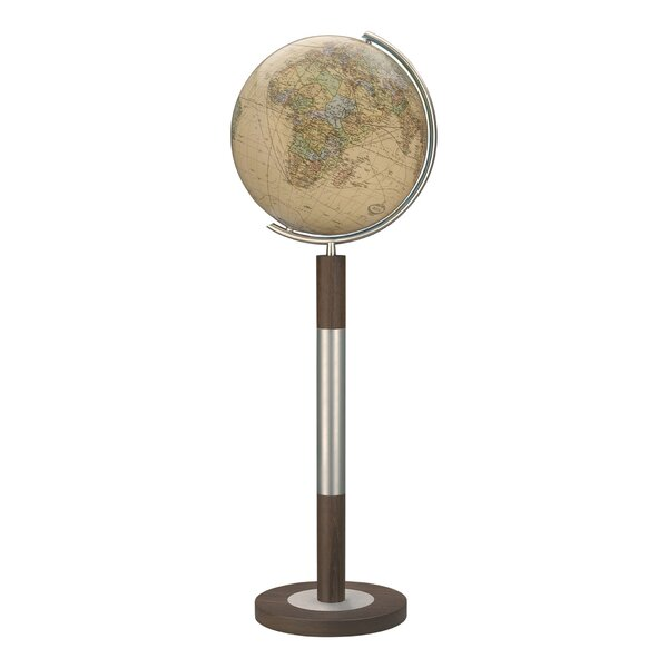 Bremen Royal Illuminated Floor Globe by Columbus Globe