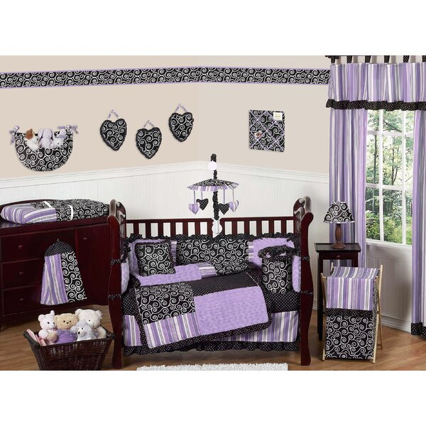 Kaylee 9 Piece Crib Bedding Set by Sweet Jojo Designs