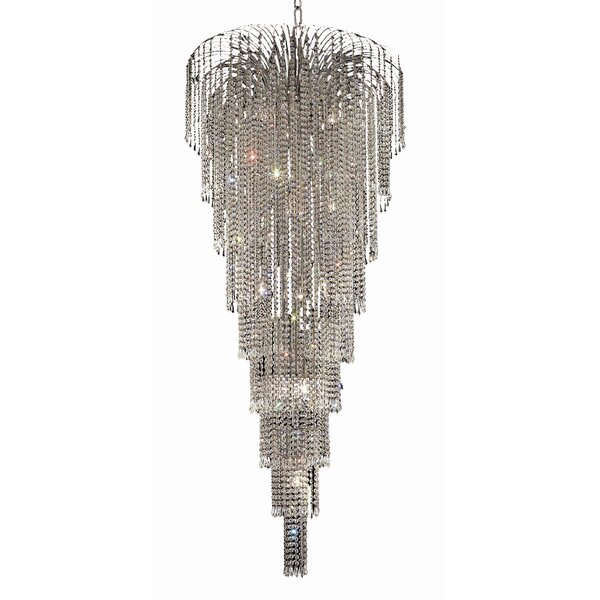 Westrem 15 - Light Unique/Statement Tiered Chandelier by House of Hampton House of Hampton