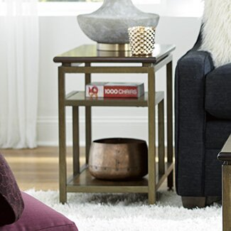 Leonardo Chairside Table by Corrigan Studio
