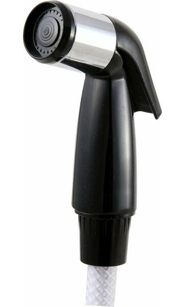 Replacement Vegetable Sprayhead in Black by Delta