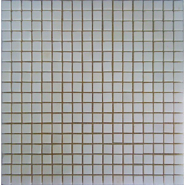 0.6 x 0.6 Marble Mosaic Tile in China White by Luxsurface