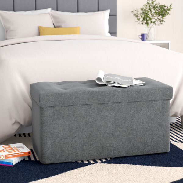 Hilma Fabric Storage Bench by Zipcode Design