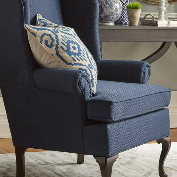 Palmdale Wingback Chair by Three Posts