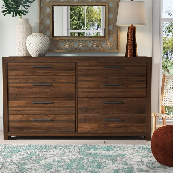 Lexus 8 Drawer Double Dresser by Mistana