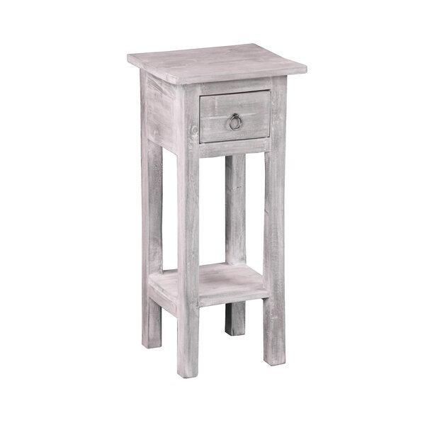 Kristy End Table by Highland Dunes