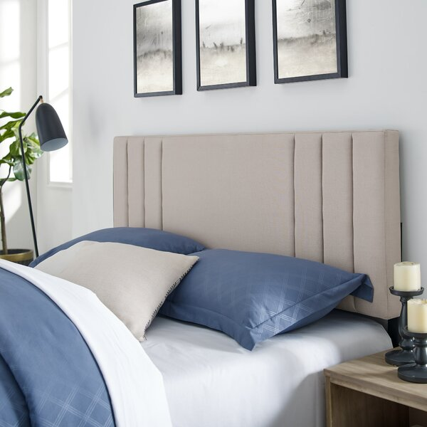 Martinsdale Upholstered Panel Headboard by Latitude Run Latitude Run