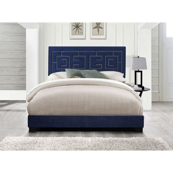 Permelia Upholstered Standard Bed by Everly Quinn