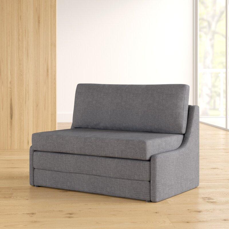 Sabine 43 31 Armless Sofa Bed