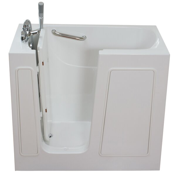 Small Long Hydrotherapy Massage Whirlpool Walk-In Tub by Ella Walk In Baths