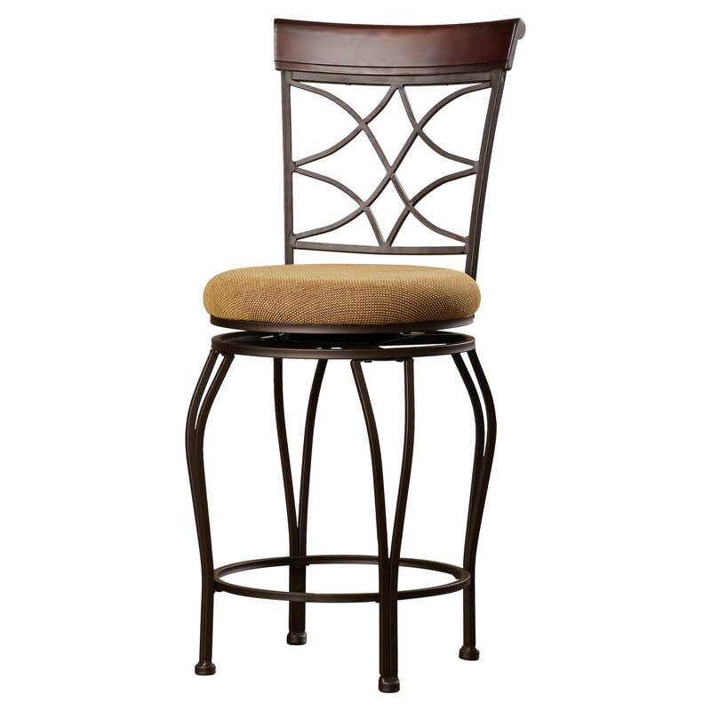 Alcott Hill Reading 24 Quot Swivel Bar Stool Amp Reviews Wayfair