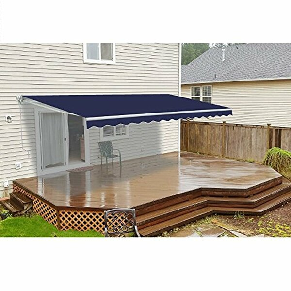 13ft. W  x 10ft. D Retractable Patio Awning by ALEKO