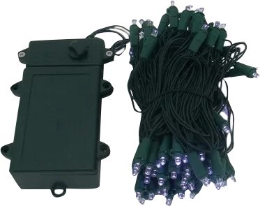 100 LED Light Strand with Timer and Various Settings (Set of 2) by Hi-Line Gift Ltd.