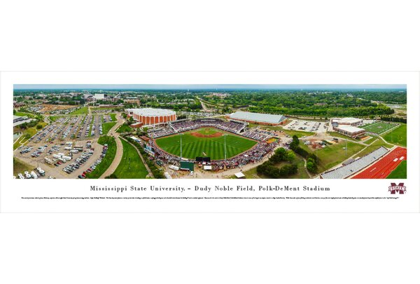 NCAA Mississippi State University - Super Bulldog Weekend by James Blakeway Photographic Print by Blakeway Worldwide Panoramas, Inc