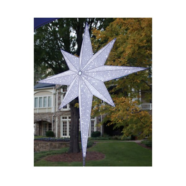 LED Lighted Moravian Star Commercial Christmas Tree Topper by Northlight Seasonal