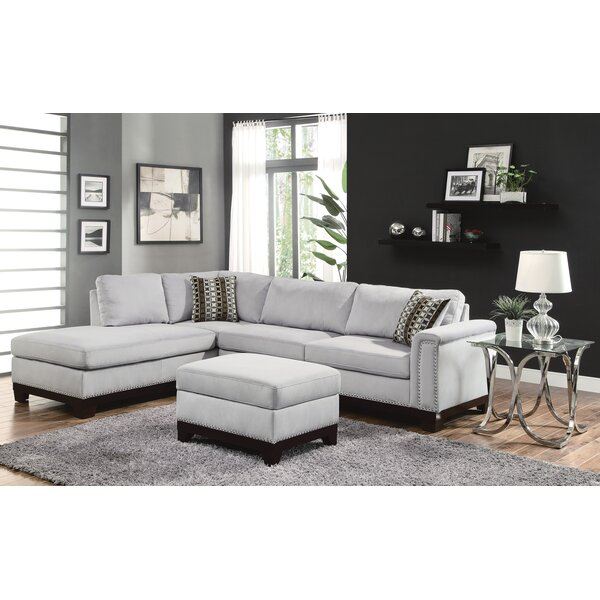 Looking for Carson Reversible Sectional By Darby Home Co Savings