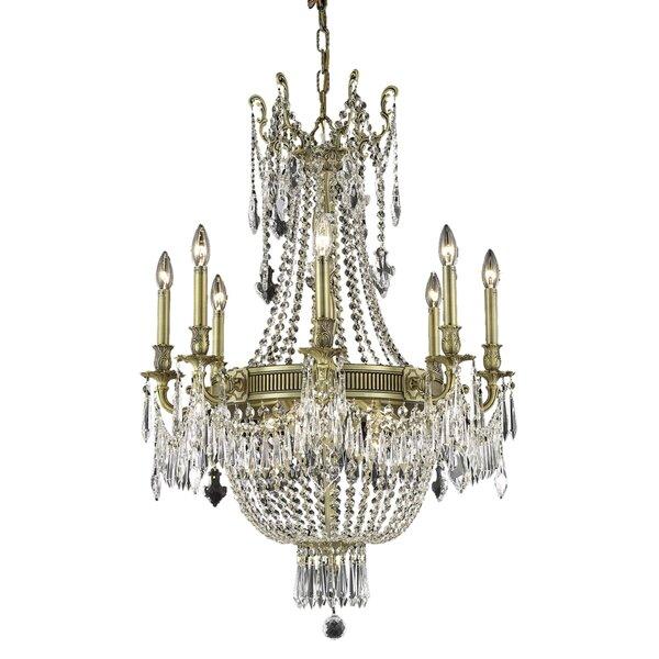 Ursula 12-Light Empire Chandelier by Astoria Grand