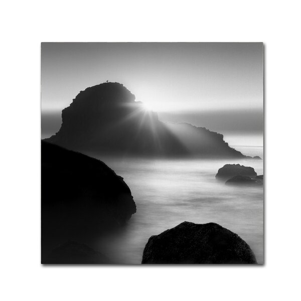 Long Sunset at Indian Beach by Moises Levy Photographic Print on Wrapped Canvas by Trademark Fine Art