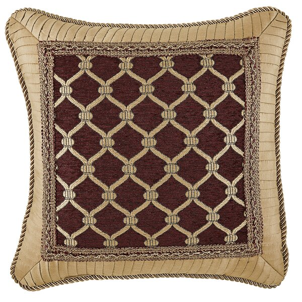 Gianna Fashion Throw Pillow by Croscill Home Fashions