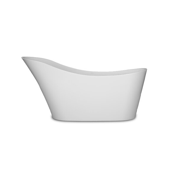 Avro 67 X 28.25 Freestanding Soaking Bathtub by Kokss
