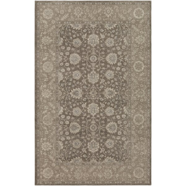 Ismael Taupe/Cream Area Rug by World Menagerie